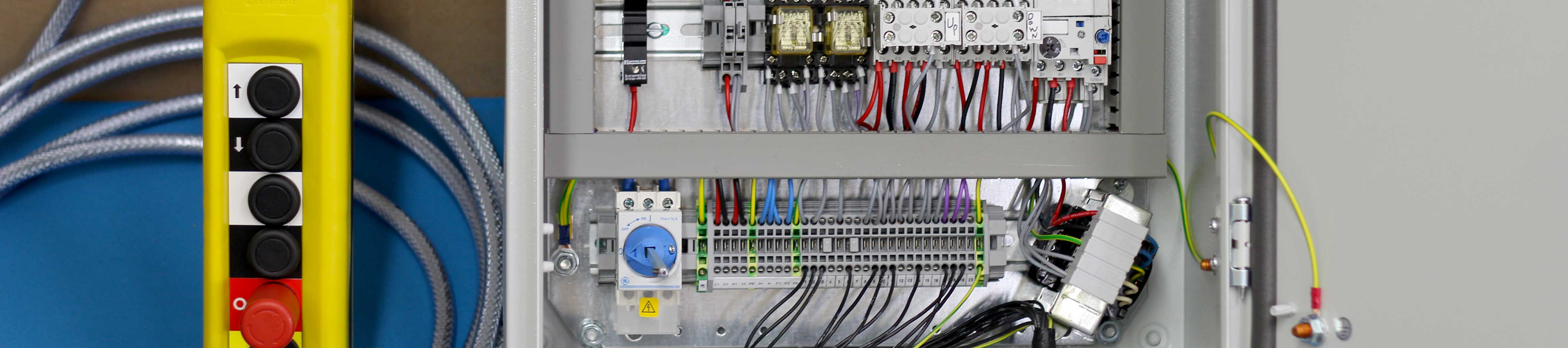 Modern Drives and Controls - Individually manufactured control panels