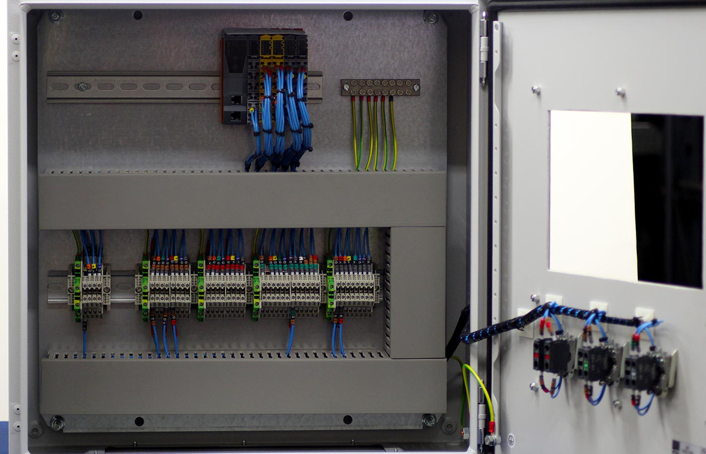 Modern Drives & Controls - Bespoke Control Panels